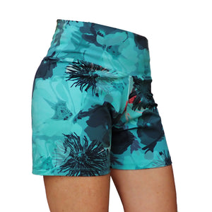 Liquido girls active shorts on size 8 model
