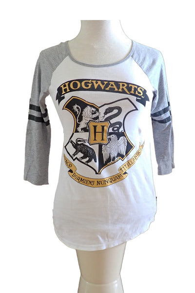 Harry Potter Hogwarts 3/4 sleeve t-shirt front
