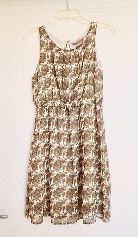 NWT Golden Fashion sleeveless dress
