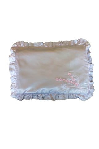 vintage doll's satin pillowcase