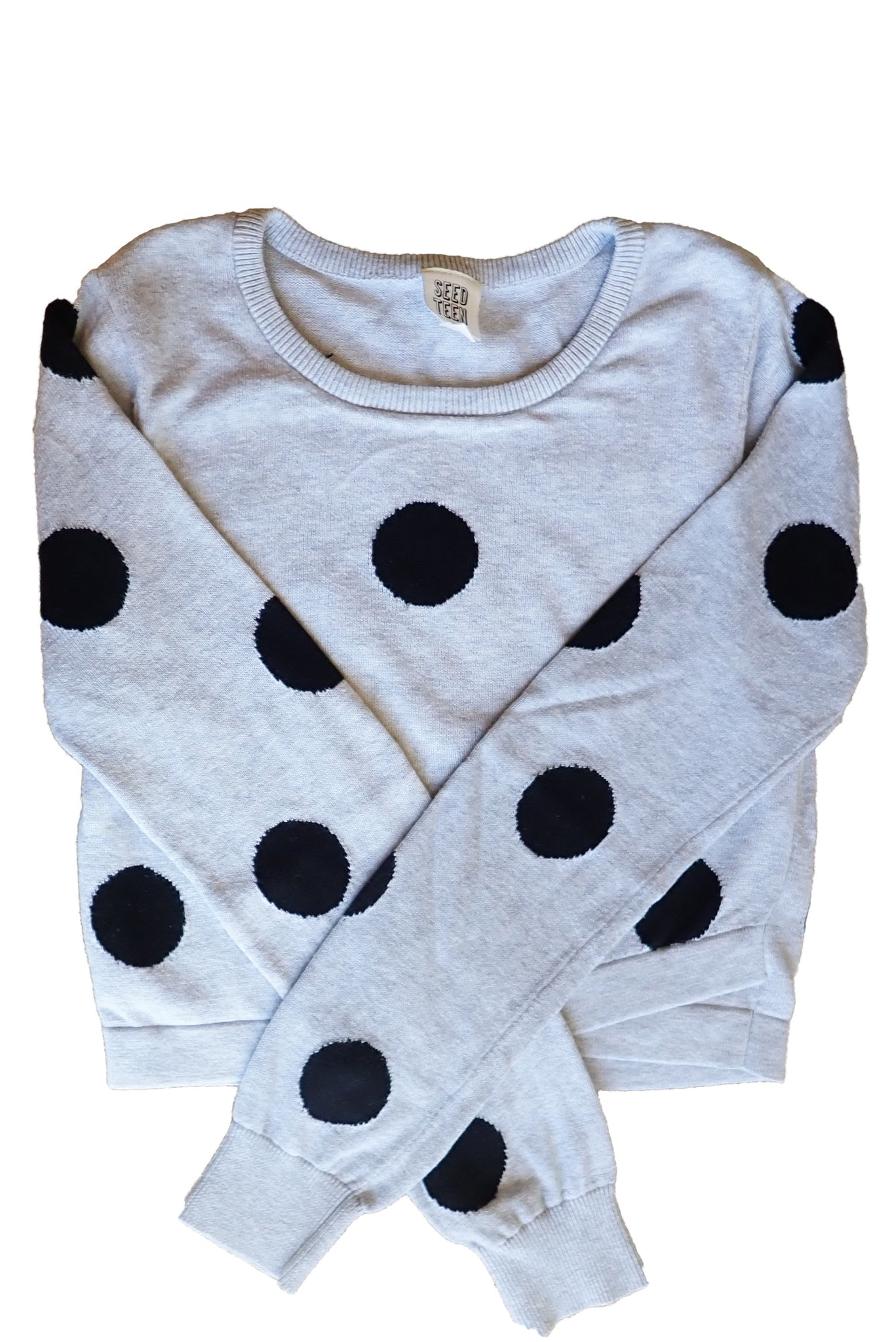 Seed Teen cotton jumper front
