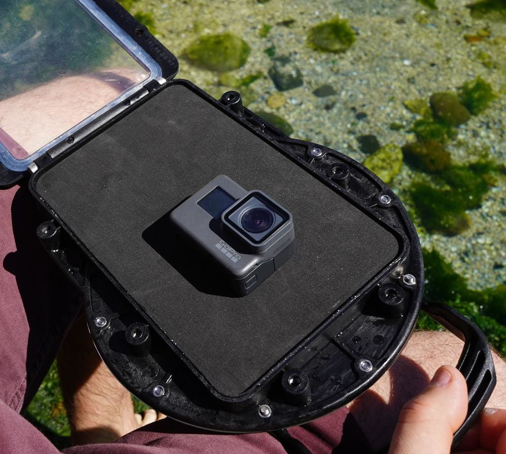 GoPro Action Camera In GDome Mobile Dome Housing
