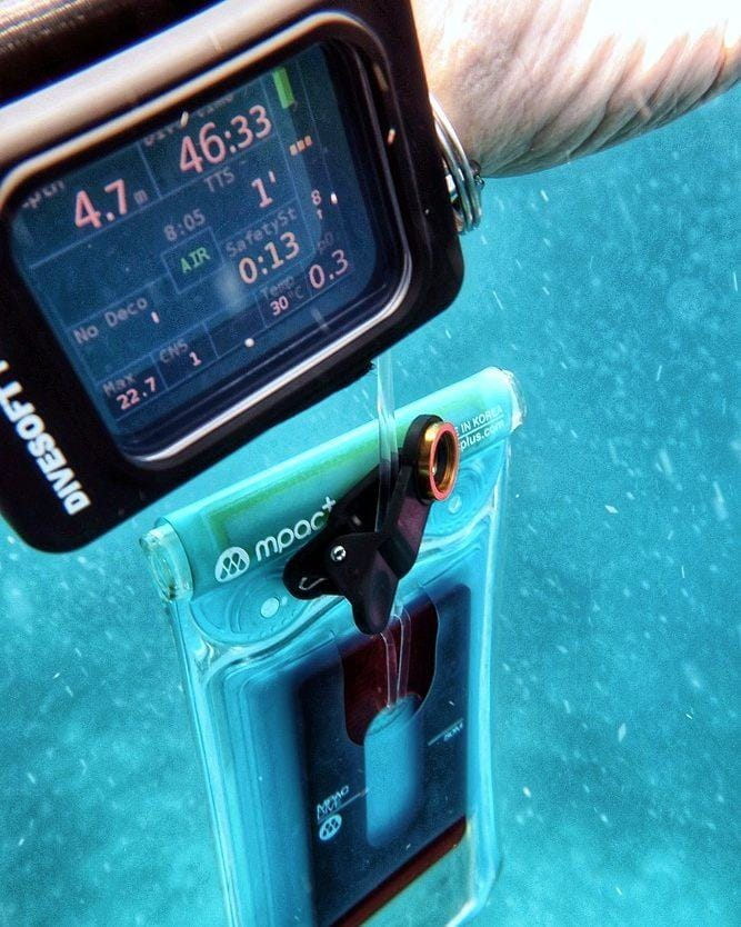 MPac+ Dive -200m Depth Rated, 40M Touchable Waterproof Smartphone Case Cellphone Underwater Housing