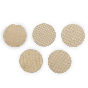5PC Replacement Screens, Brass