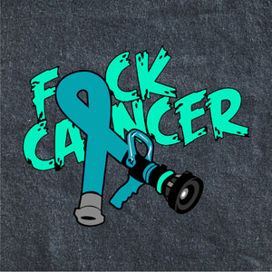 Fire Fighter Cancer Support Decal
