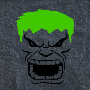 HULKS MEAN FACE
