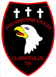 Prayerborne Eagles Patch - Clarksville, Tennessee