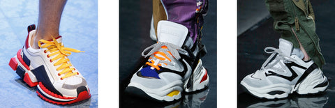 Exaggerated Proportions - Sneaker Trends 2019