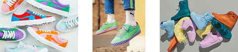 Sneakers with color - Sneaker Trends 2019