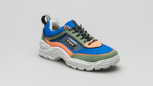 Load image into Gallery viewer, DiVERGE Sneakers Ziggy in Electric Blue, Forest, Salmon, Black and Glass
