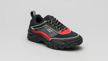 Load image into Gallery viewer, DiVERGE Sneakers Ziggy in black, antracite, red, white and glass