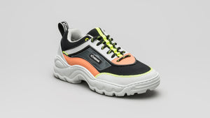 DiVERGE Sneakers Ziggy in Black, Pale Smoke, Salmon and Glass