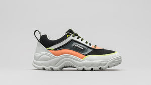 DiVERGE Sneakers - Ziggy V1 Color Mix Black and Salmon