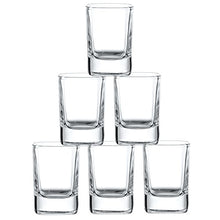Load image into Gallery viewer, 6-Pack Heavy Base Shot Glass Set