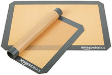 Load image into Gallery viewer, AmazonBasics Silicone Baking Mat, 4-Pack