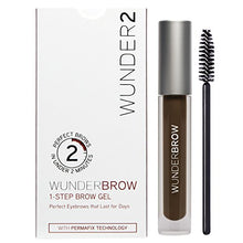 Load image into Gallery viewer, WUNDER2 WUNDERBROW Long Lasting Eyebrow Gel for Waterproof Eyebrow Makeup