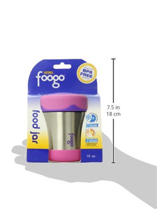 THERMOS FOOGO Vacuum Insulated Stainless Steel