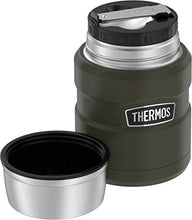 Load image into Gallery viewer, Thermos Food Jar with Folding Spoon
