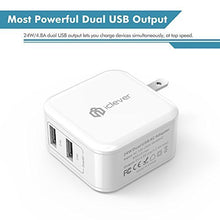 Load image into Gallery viewer, iClever BoostCube-Dual USB Travel Wall Charger