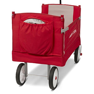 Radio Flyer Folding Wagon with Canopy