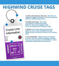Load image into Gallery viewer, Cruise Tags Luggage E-tag