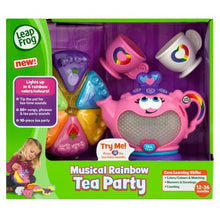 Load image into Gallery viewer, LeapFrog Musical Rainbow Tea Set