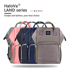 Load image into Gallery viewer, HaloVa Waterproof Diaper Bag