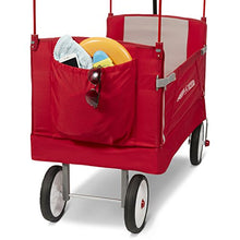 Load image into Gallery viewer, Radio Flyer Folding Wagon with Canopy