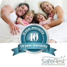 Load image into Gallery viewer, Twin Size SafeRest Premium Hypoallergenic Waterproof Mattress Protector
