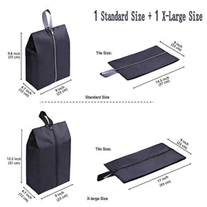 Travel Shoe Bags (x2) Waterproof.