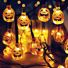 Load image into Gallery viewer, Halloween Pumpkin String Lights