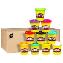 Load image into Gallery viewer, Non-Toxic 10 Pack Case of Colorful Play-Doh.