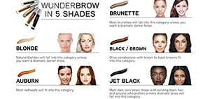 WUNDER2 WUNDERBROW Long Lasting Eyebrow Gel for Waterproof Eyebrow Makeup