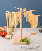 Load image into Gallery viewer, Bellemain Large Wood Pasta Drying Rack