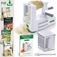 Load image into Gallery viewer, Spiralizer Ultimate 7-Blade Vegetable Slicer