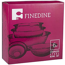 Load image into Gallery viewer, Stainless Steel Mixing Bowls by Finedine