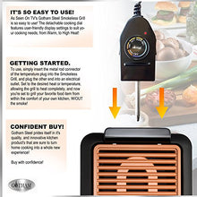 Load image into Gallery viewer, GOTHAM Smokeless Electric Grill