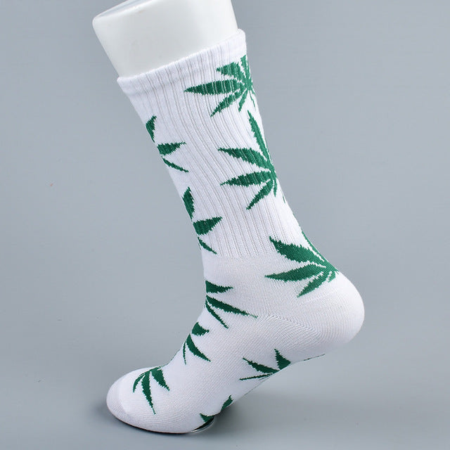 doxnation:Calcetines originales naturales🍁(Premium Quality),Long white green