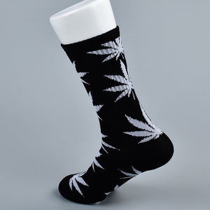 doxnation:Calcetines originales naturales🍁(Premium Quality),Long black white