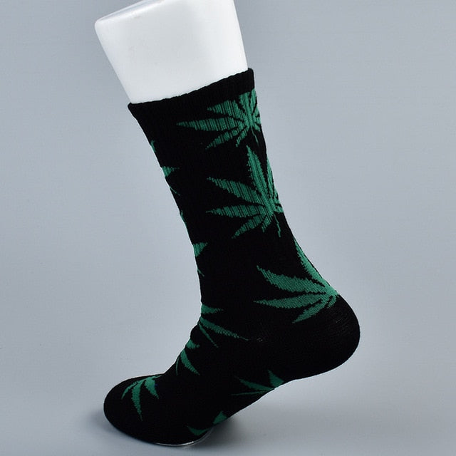 doxnation:Calcetines originales naturales🍁(Premium Quality),Long black green