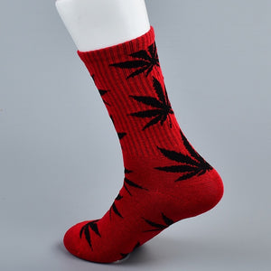 doxnation:Calcetines originales naturales🍁(Premium Quality),Long red black