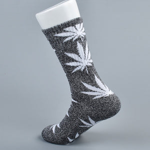 doxnation:Calcetines originales naturales🍁(Premium Quality),Long grey white