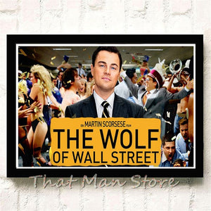 Posters The Wolf of Wall Street🐺