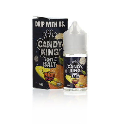 Candy King Salts Peachy Ring 30ml Nic Salt Vape Juice