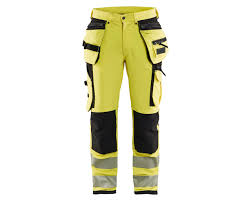 Blaklader 1997 Hi Vis trousers with 4-way-stretch (Blaklader X1900 Hi Vis Trousers)