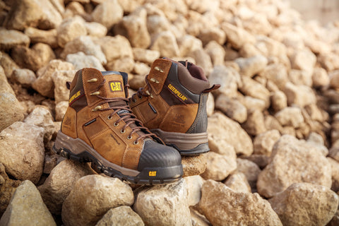 Lifestyle image of Caterpillar Work boots