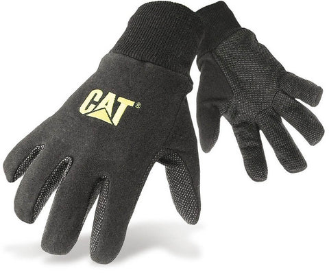 The Caterpillar Jersey Dotted Gloves
