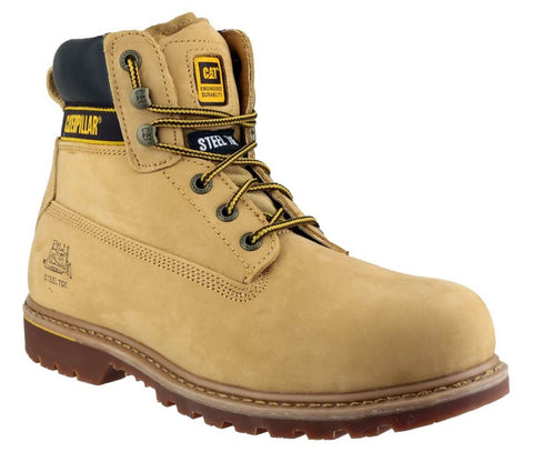 An image of the Caterpillar S3 Holton Work Boots