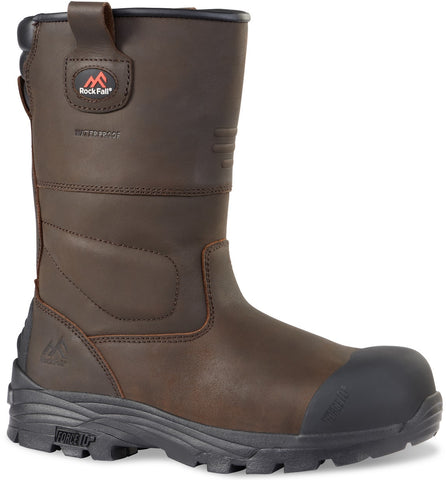 An image of the Rockfall Texas Rigger Boots