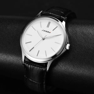 Ultra Thin Quartz Men Business Watch